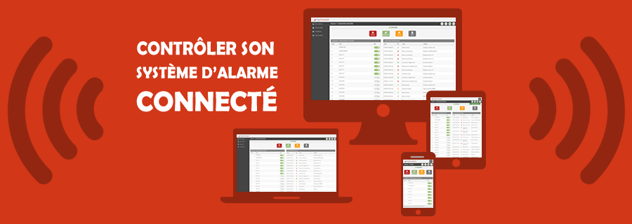 Contr ler son alarme connect e par internet alarme for Alarme maison internet